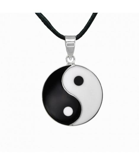 Silberschmuck Anhänger ''Yin Yang'' 925 Sterling-Silber Ø 2,0 cm Magic&Mystik&Metal 15,99€
