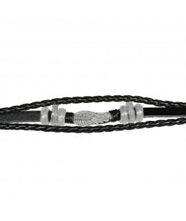 Armschmuck Flügel Leder und Metall (nickelfrei) ca. 18 cm Arm&Finger 9,99€