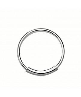 Nasenring 10mm Außendurchmesser Silber Piercing 1,99€
