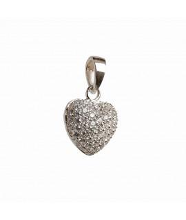 Silberschmuck Anhänger Herz 925 Sterlingsilber Halsschmuck 26,99€